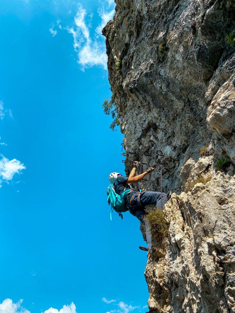start via ferraty Fregio nad Lago d'Idro