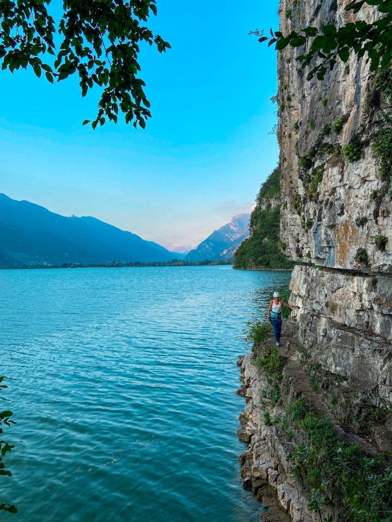 Via ferrata Sasse nad Lago d'Idro
