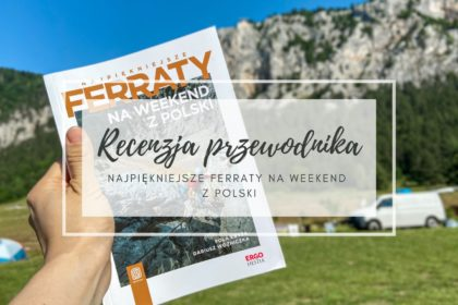 okładka wpisu o recenzji przewodnika najpiekniejsze ferraty na weekend z polski