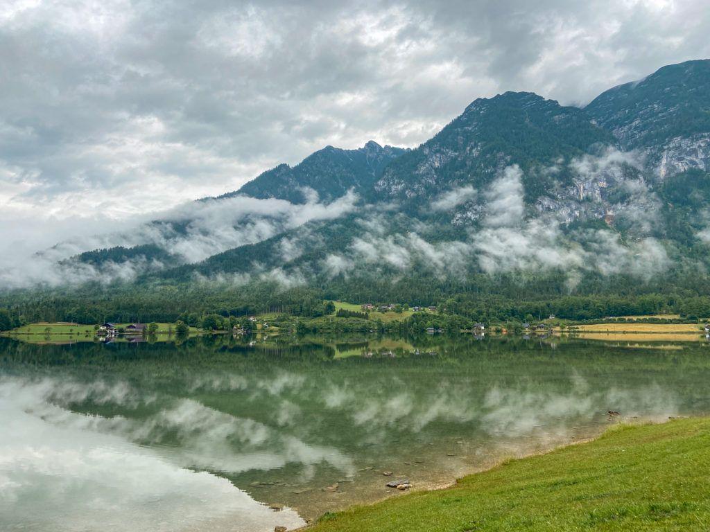 Jezioro Halsztackie o poranku